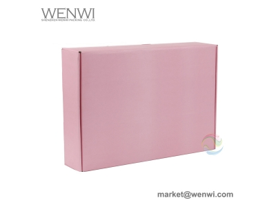 manufacturers custom color tuck top e flute corrugated box