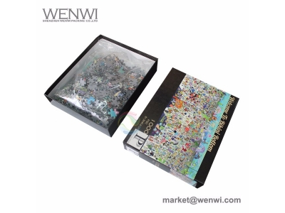 Chinese Factory Custom 1000 Pieces Cardboard Children Puzzle Education