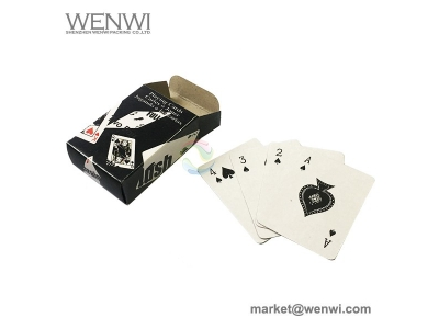 Custom Printing Color Personalized Recycled Paper Playing Card with Box  Product Description Custom Printing Color Personalized Recycled Paper Playing Card with Box Product description