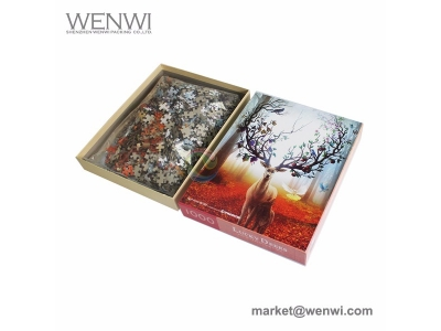 Professional Factory Custom High Quality Thick Cardboard Small Pieces Printed 1000 Piece