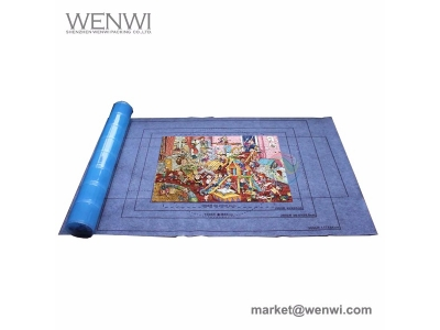 Custom Personalized Paper Cardboard 1000 Pieces Roll Up Jigsaw Puzzle Mat