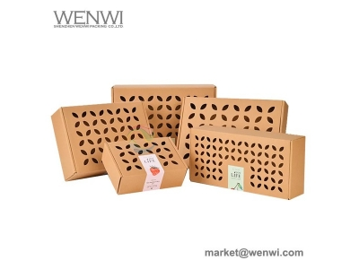 Export Custom Paper Carton Fresh Apple Box Fruit Packaging