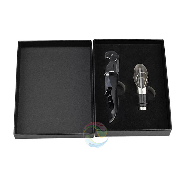 High quality new products cardboard wine accessories box design